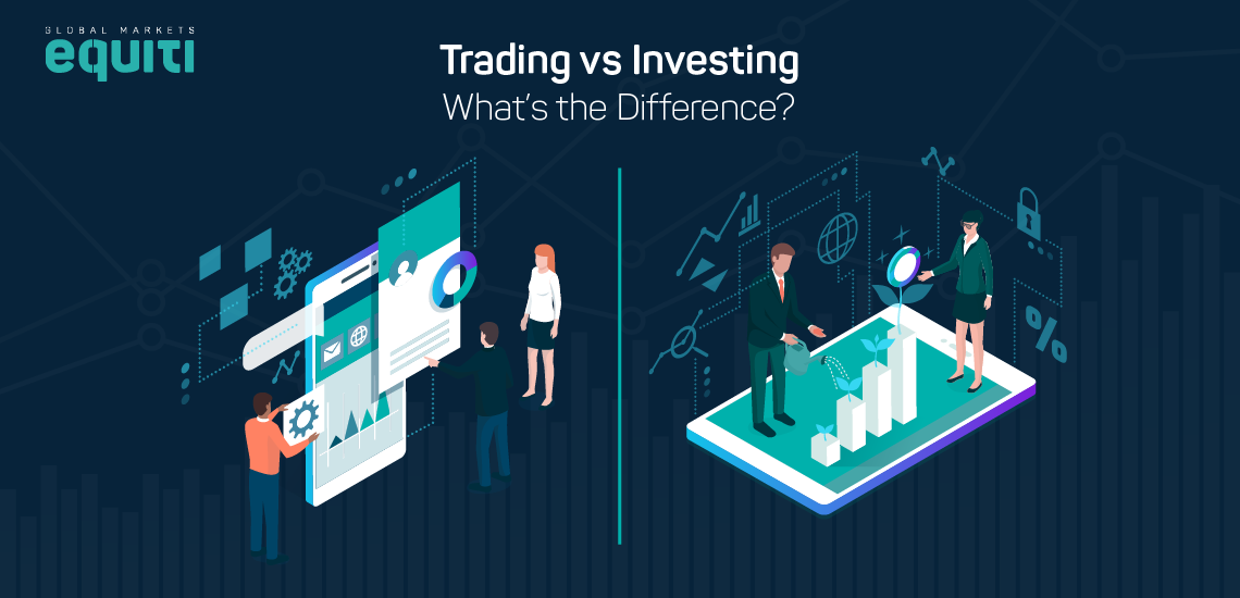 Trading vs Investing – What's the Difference?