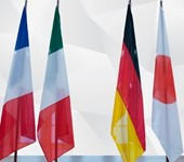 G7 Countries Flags
