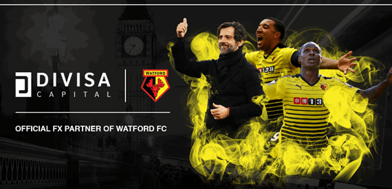 Divisa Official Sponsor of Watford FC